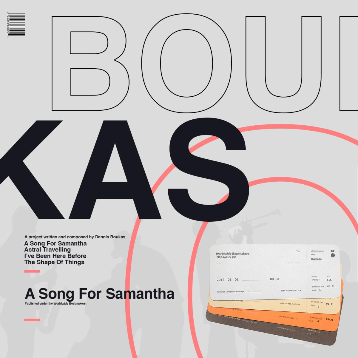 Boukas – A Song ForSamantha